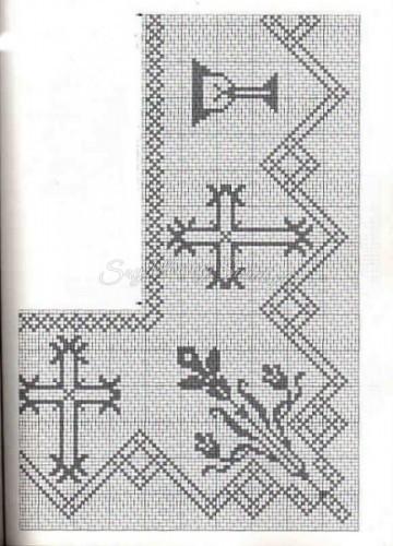 101 Filet Crochet Charts 45
