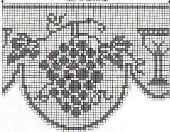 101 Filet Crochet Charts 46
