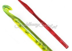 15cm-Single-Head-Plastic-Crochet-Hook-NO-A007-3-00-
